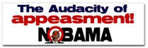 Appeasement Sticker (Bumper)