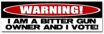 Bitter Gun Owner Sticker (Bumper)