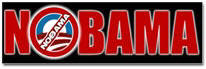 NOBAMA Sticker (Bumper)