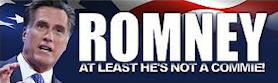 Romney - At least he's not a commie