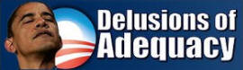Anti Obama Delusions of Adequacy bumper sticker