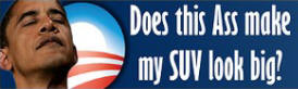 Obama Ass Sticker (Bumper)