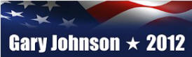 Gary Johnson Sticker (Bumper)