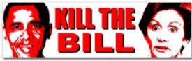 Kill The Bill Bumper Sticker