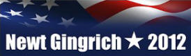 Newt Gingrich 2012 Sticker (Bumper)