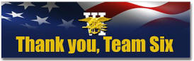 Seal Team VI Bumper Sticker